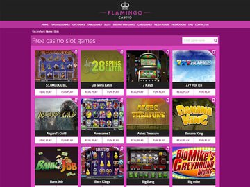 Royal Flamingo Casino Software Preview