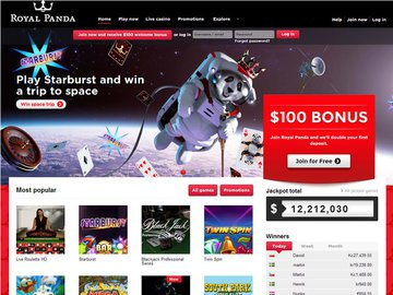 Royal Panda Homepage Preview