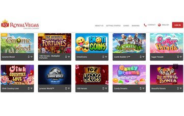 Royal Vegas Casino Software Preview