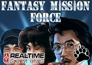 Realtime Gaming Casinos New Fantasy Mission Force Slot