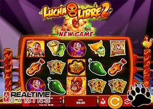 RTG Casinos Release New Lucha Libre 2 Slot