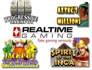 Three Incoming RTG Progressive Jackpots