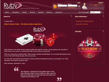 Ruby Fortune Casino Software Preview
