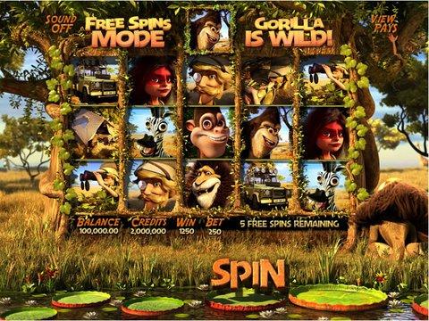 Safari Sam Game Preview