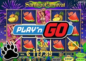 Samba Carnival The New Slots Game by Play'N Go