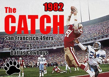 San Francisco 49ers vs Dallas Cowboys - The Catch
