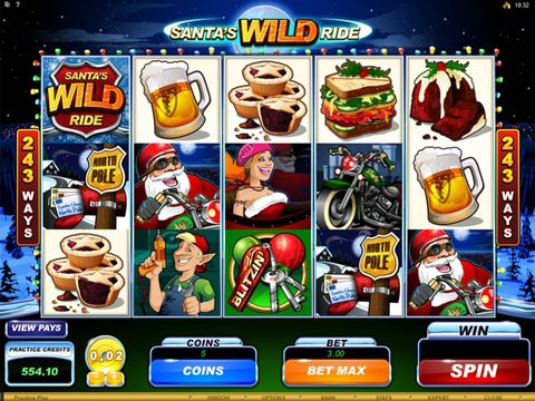 Santas Wild Ride Game Preview
