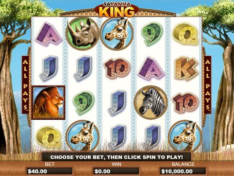 Savanna King Game Preview