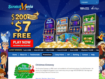Scratch Mania Casino Software Preview