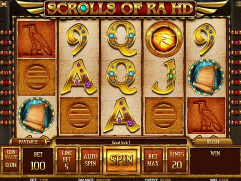 Scrolls of RA Game Preview