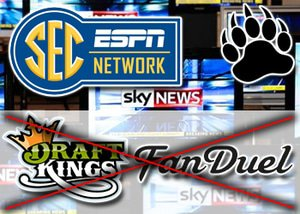 Gambling Concerns Lead To Ban on DraftKings and FanDuel Ads