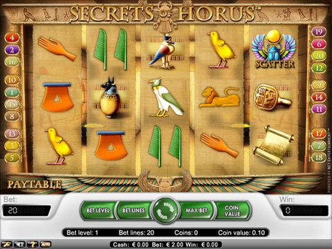 Secrets of Horus Game Preview