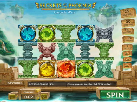 Play Secrets Of The Phoenix Slot Demo