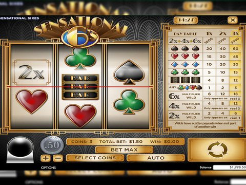 Spiele Sensational Sixes - Video Slots Online