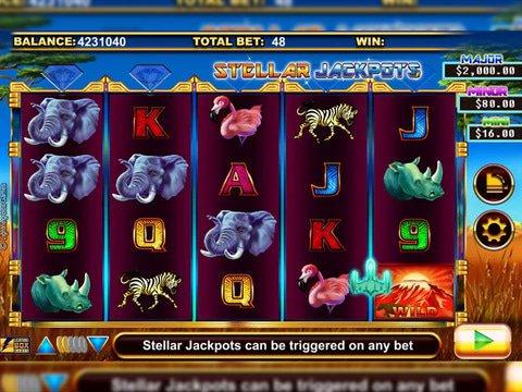 Sergengeti Lions Online Slot Machine Demo