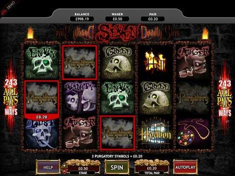 Seven Deadly Sins Slot Machine