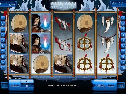 Play the Free Shaman Slot Machine from Endorphina