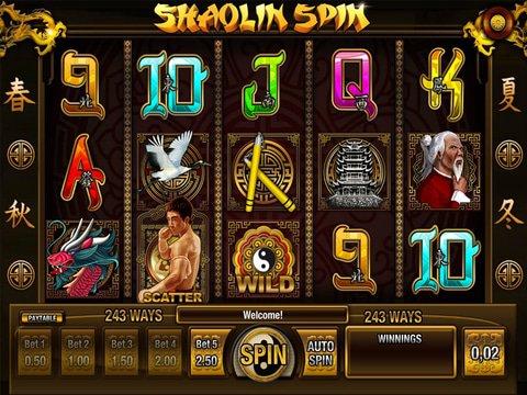 Enjoy The No Download Shaolin Spin Slots