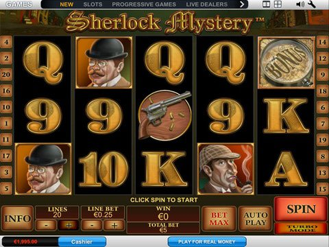 Sherlock Mystery Game Preview