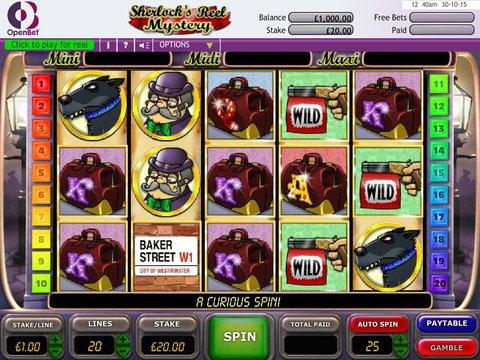 Play Sherlocks Reel Mystery Slot Machine Free With No Download