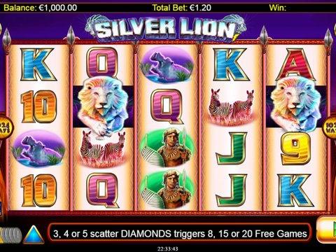 Silver Lion No Download Slot