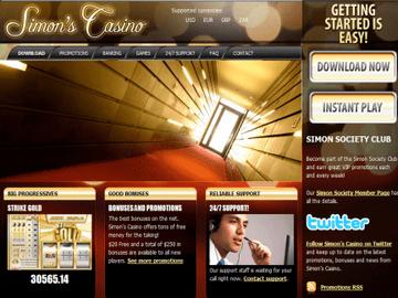 Simon says casino bonus codes gambling software for website