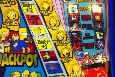 The Simpsons Slot Machine - Free Preview Here Soon