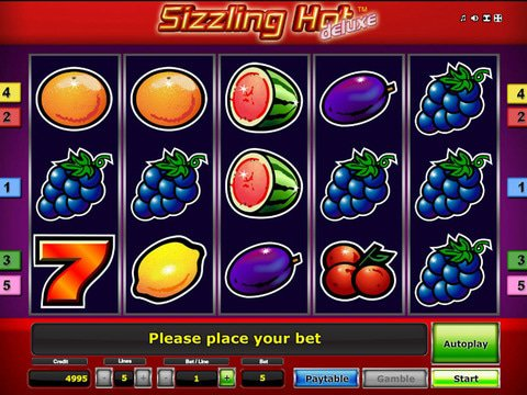 Sizzling Hot Free Play Game