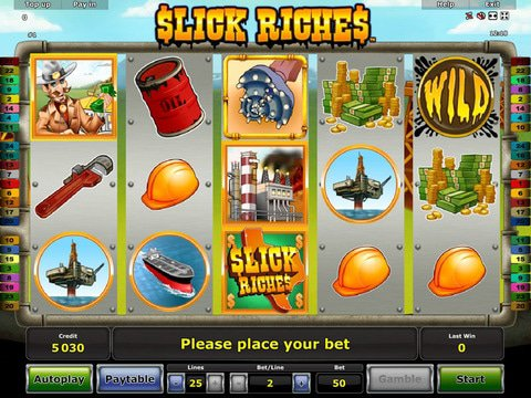 Slick Riches Game Preview