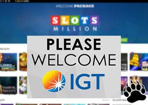 Slots Million Casino adds slots from IGT