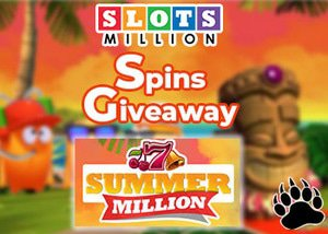 SlotsMillion Casino Summer Millions Giveaway