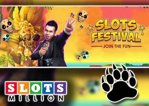 Slots Million's Slots Festival is On!