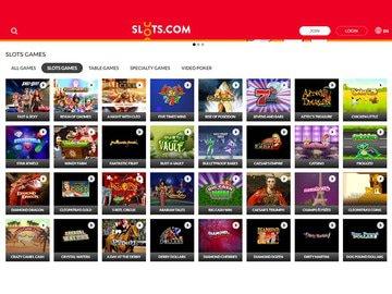 Slots.com Software Preview