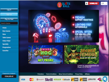 Slotshall Casino Software Preview