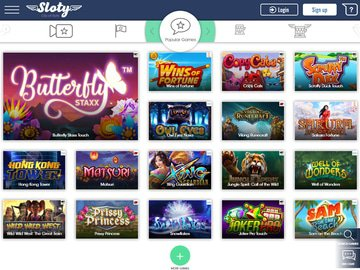 Sloty Casino Software Preview