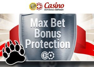 max bet bonus protection from softswiss casino software