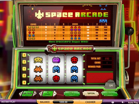 Space Arcade Game Preview