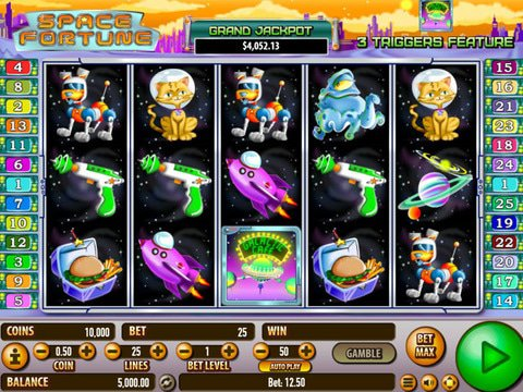 Space Fortune No Download Slot