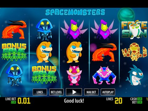 Space Monsters HD Game Preview