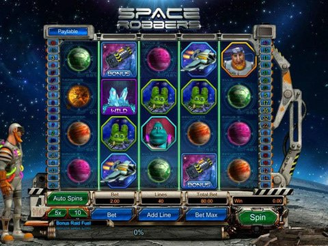 Space Robbers Game Preview