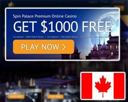 spin palace casino welcome bonus and promotions