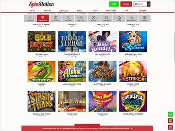 Spin Station Casino Software Preview