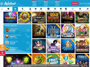 Spinland Casino Software Preview