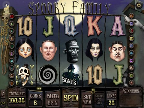 Creepy Fun with No Download Spooky Family Slots