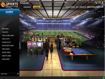 Sports Interaction Casino Software Preview
