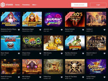 Stakes Casino Software Preview