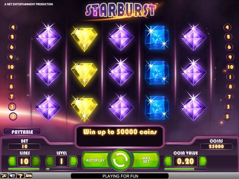Starburst Game Preview
