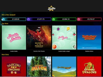 Starspins Casino Software Preview