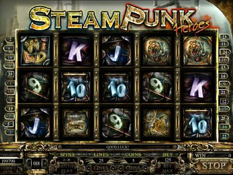 Steam Punk Heroes Game Preview