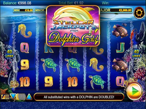 Stellar Jackpots with Dolphin Gold Game Preview